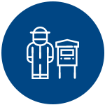 Facilidade de manuseio para o apicultor