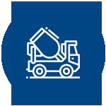 Menor consumo de aço e concreto