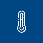 Isolante térmico, assegura a temperatura nas condições ideais